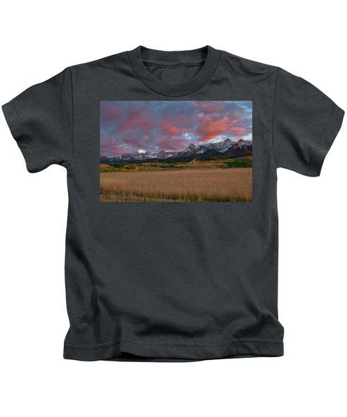 San Juan Sunset Kids T-Shirt
