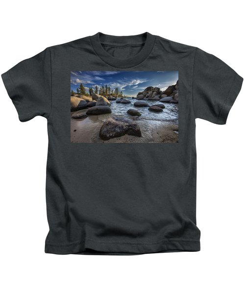 Sand Harbor II Kids T-Shirt