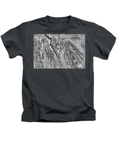 Sands Of Time Monochrome Art By Kaylyn Franks  Kids T-Shirt