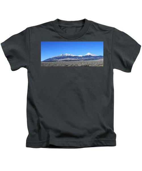 Sangre De Cristo Range Kids T-Shirt