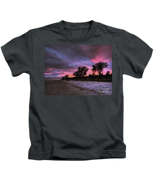 Sanibel Island Twilight Kids T-Shirt