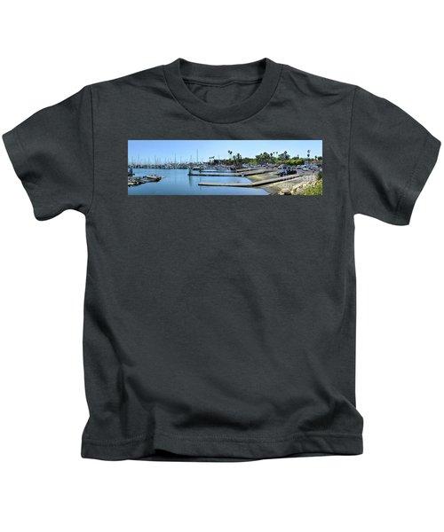Santa Barbara Marina Kids T-Shirt