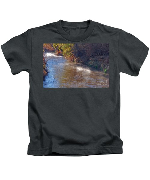 Santa Cruz River - Arizona Kids T-Shirt