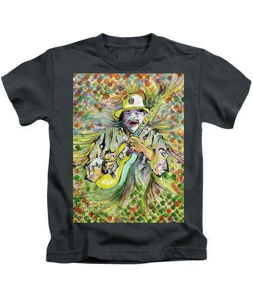 Santana's Sacred Fire Kids T-Shirt