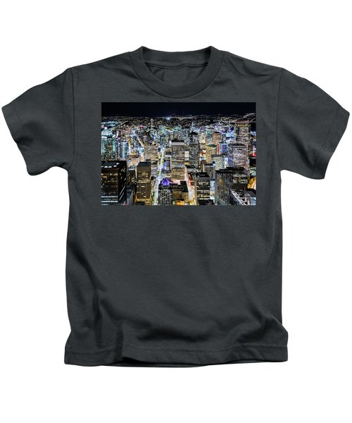 Seattle Lights Kids T-Shirt