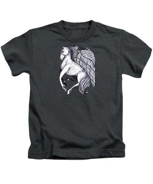 Save The Wild Mustangs Kids T-Shirt