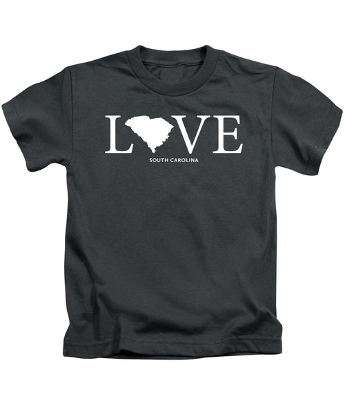 Sc Love Kids T-Shirt by Nancy Ingersoll