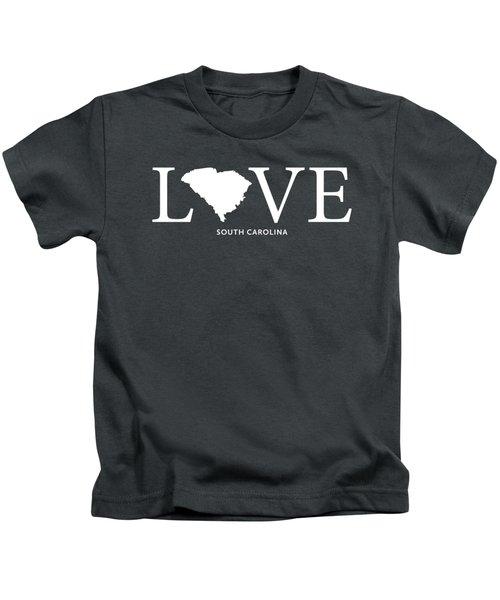 Sc Love Kids T-Shirt by Nancy Ingersoll
