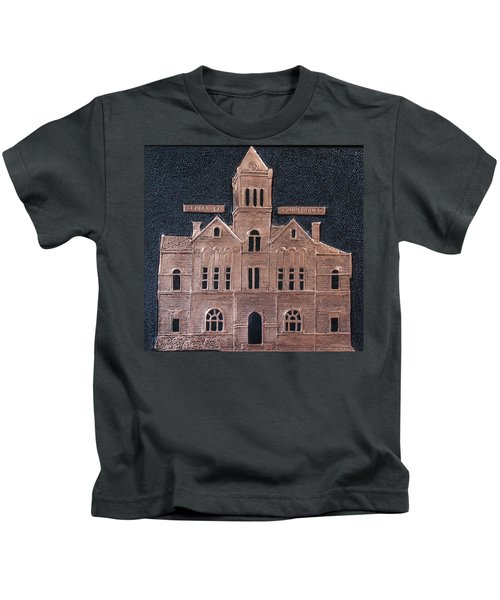 Schley County, Georgia Courthouse Kids T-Shirt