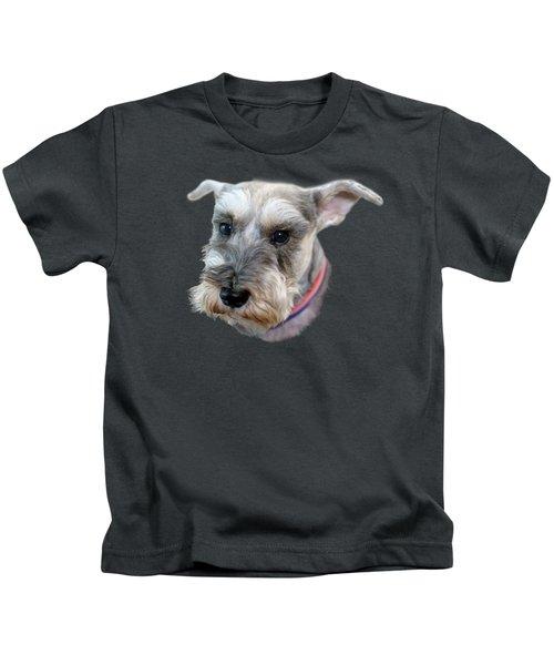 Schnauzer - Transparent Kids T-Shirt
