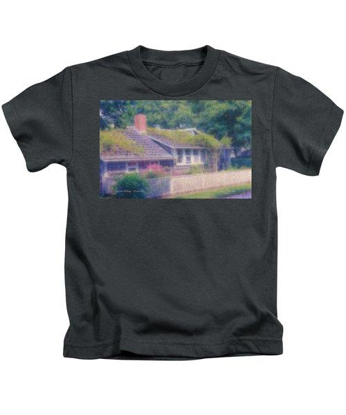 Sconset Cottage #3 Kids T-Shirt