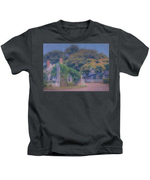 Sconset Cottages Nantucket Kids T-Shirt