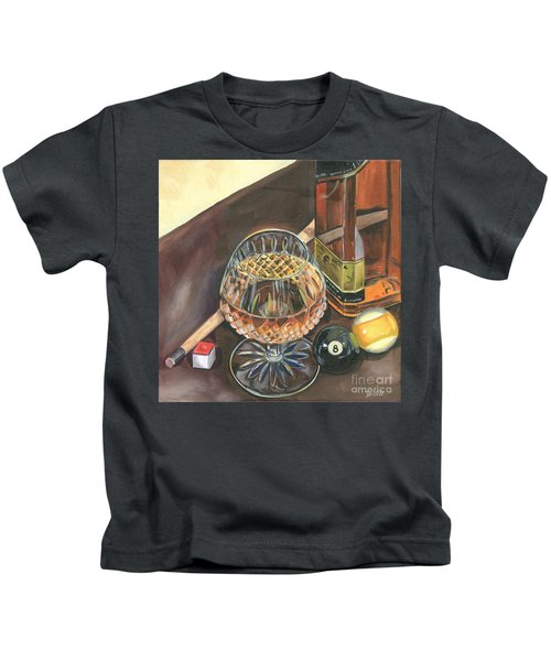 Scotch Cigars And Pool Kids T-Shirt
