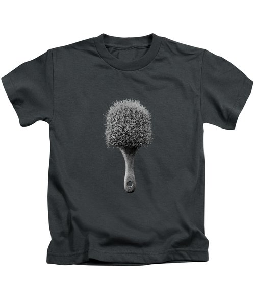 Scrub Brush Up Bw Kids T-Shirt