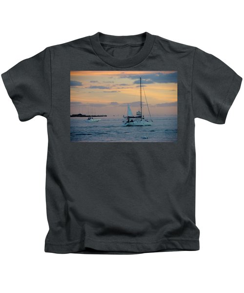 Sd Sunset 3 Kids T-Shirt