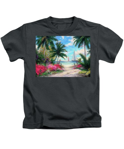 Sea Breeze Trail Kids T-Shirt