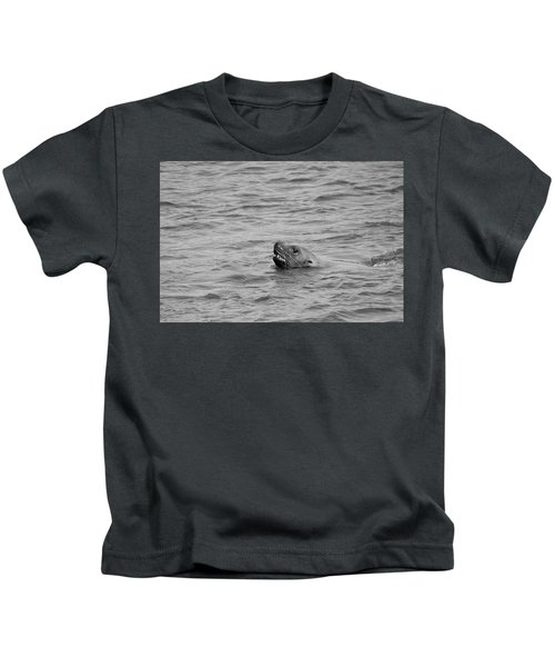 Sea Lion In The Wild Kids T-Shirt