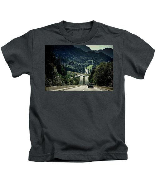Sea To Sky Highway Kids T-Shirt