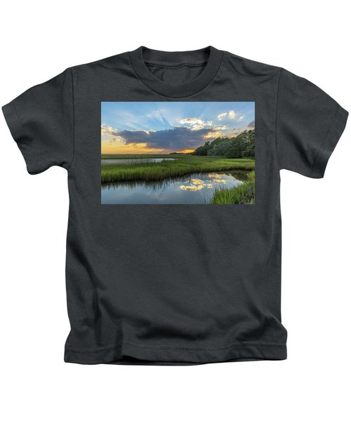 Seabrook Island Sunrays Kids T-Shirt