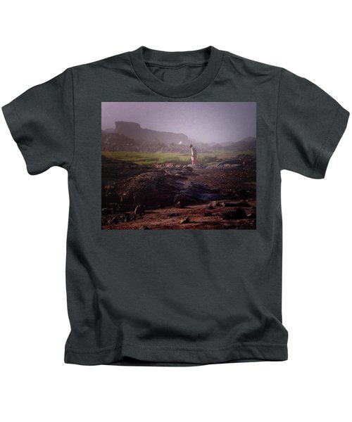 Searching For Shells Kids T-Shirt