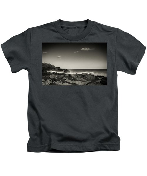 Seaside Solitude Kids T-Shirt