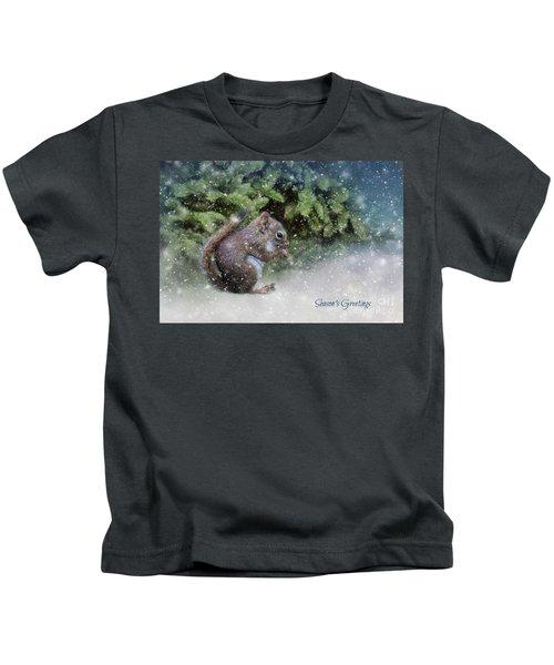 Season's Greetings Kids T-Shirt