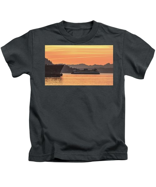 Seattle - Bremerton Ferry Kids T-Shirt