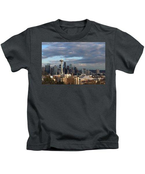 Seattle Skyline Kids T-Shirt
