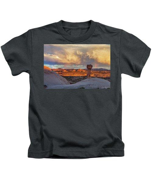 Secret Spire Sunset 1 Kids T-Shirt