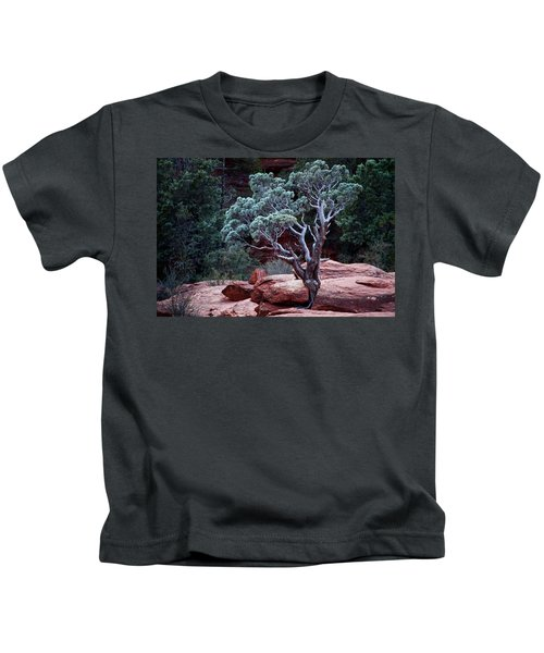 Sedona Tree #3 Kids T-Shirt
