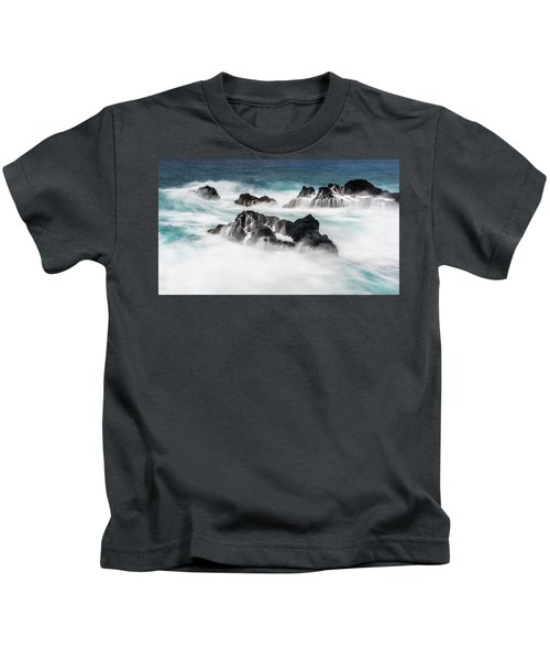 Seduced By Waves Kids T-Shirt