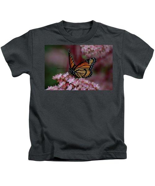 Sedum Butterfly Kids T-Shirt