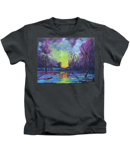 Seeing Through The Truth Kids T-Shirt