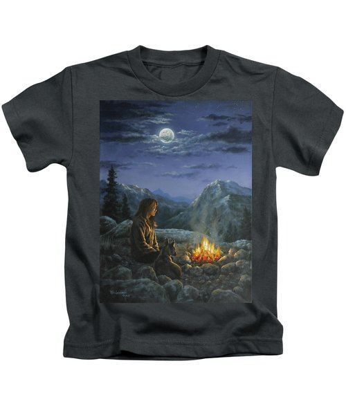 Seeking Solace Kids T-Shirt