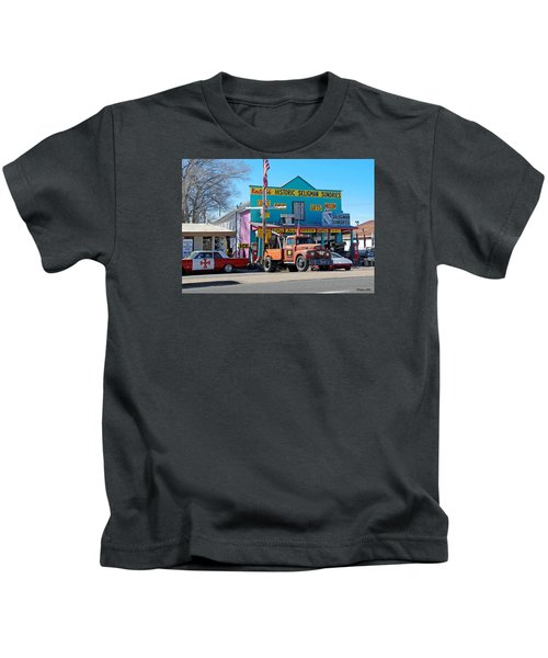 Seligman Sundries On Historic Route 66 Kids T-Shirt