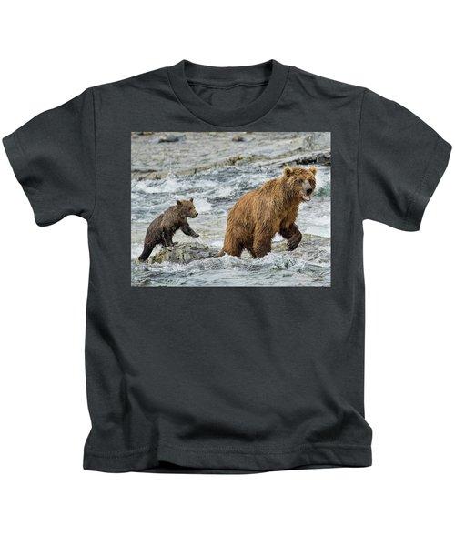 Sensing Danger Kids T-Shirt