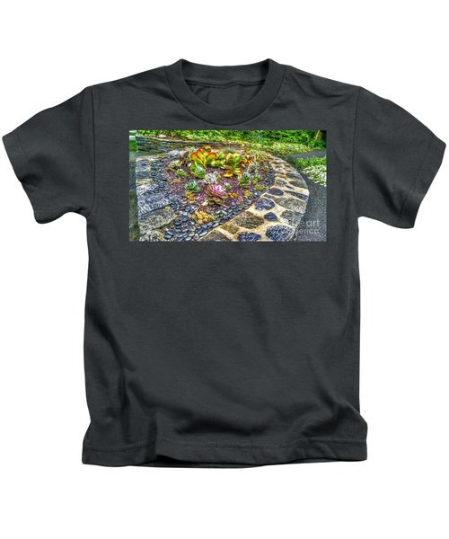 Sensory Garden At Laurelwood Arboretum Kids T-Shirt