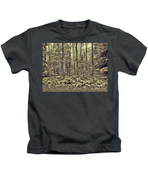 Sepia Landscape Kids T-Shirt