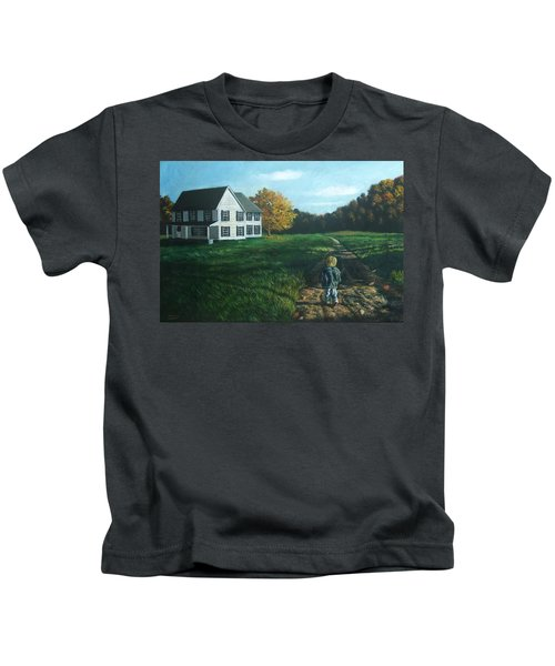 September Breeze Number 4 Kids T-Shirt