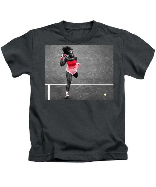 Serena Williams Strong Return Kids T-Shirt