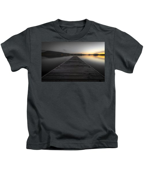 Serene Lake 2 Kids T-Shirt