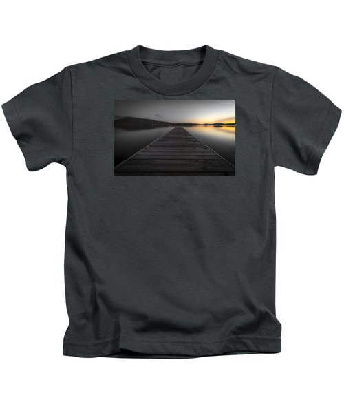 Serene Lake 2 Kids T-Shirt