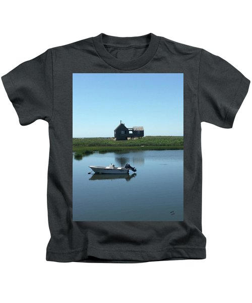 Kids T-Shirt featuring the photograph Serene Life by Marian Palucci-Lonzetta