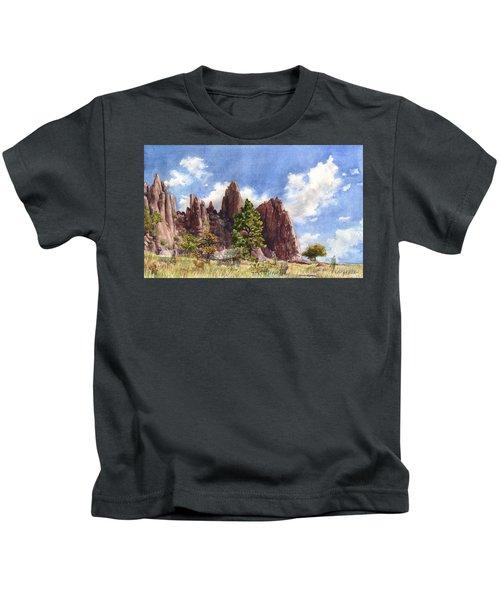Settler's Park, Boulder, Colorado Kids T-Shirt