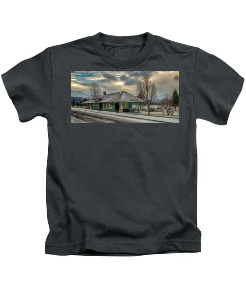 Seward Alaska 2017 Kids T-Shirt