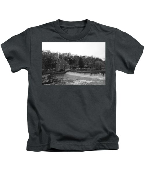 Shadows On The Mill In Clinton Kids T-Shirt