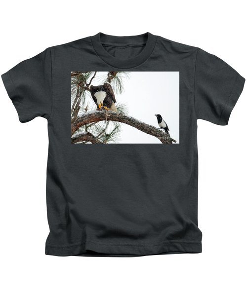 Share The Wealth Kids T-Shirt by Mike Dawson