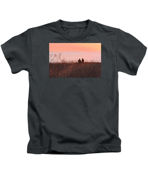 Sharing Tranquility Kids T-Shirt