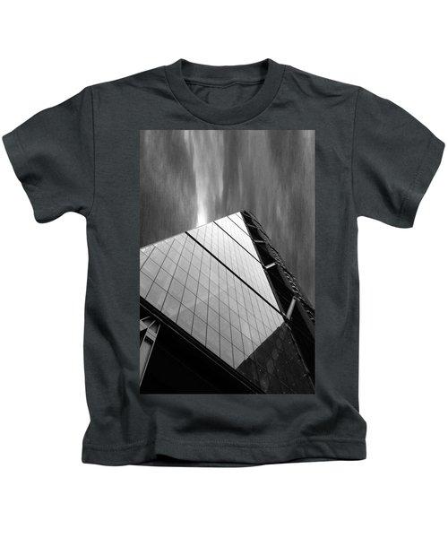 Sharp Angles Kids T-Shirt by Martin Newman