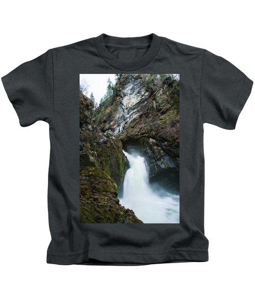 Sheep Creek Falls Kids T-Shirt